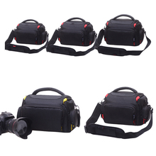Dslr saco da câmera para nikon d3200 d7100 d7200 d3300 d5300 fotografia saco para canon 600d 650d 700d 750d 760d com à prova de chuva cobrir