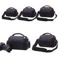 Dslr camera bag para nikon d3200 d7100 d5300 d3300 d7200 fotografía bolsa para canon 600d 650d 700d 750d 760d con a prueba de lluvia cubierta