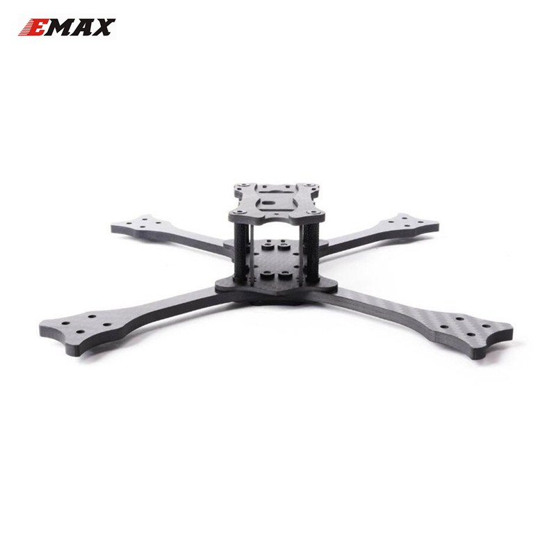 цена на Emax Hawk 5 Spare Part 5 Inch 210mm Wheelbase 4.5mm Arm Carbon Fiber Frame Kit For RC Drone Quadcopter Replacement Part Accs