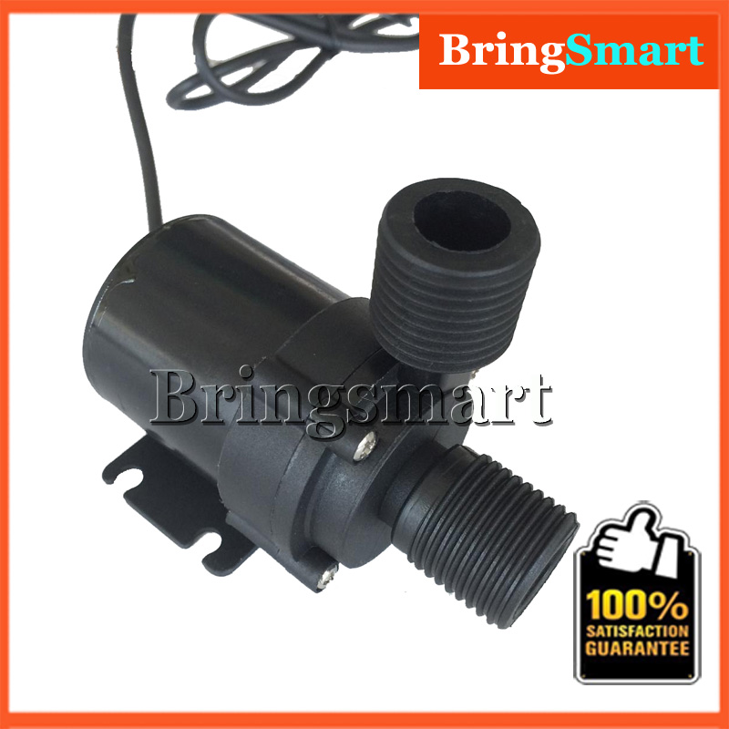 JT-600B 1000L/H 5M Booster Pump 1/2'' DC Thread DC 12V Water Pump Brushless Submersible Fountain Pump 24V Self-priming Pump 51mm dc 12v water oil diesel fuel transfer pump submersible pump scar camping fishing submersible switch stainless steel
