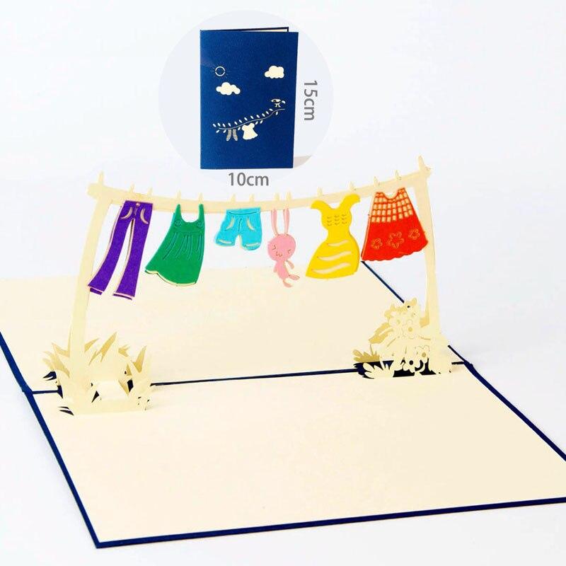 3D Laser Cut Handmade Childhood Memory Paper Invitation Greeting ...