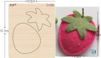 Strawberry cn1308 muyu cutting die new wooden mould cutting dies for scrapbooking Thickness 15.8mm
