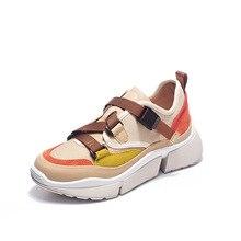 Женская обувь из вулканизированной кожи; коллекция года; весенняя женская обувь на плоской подошве; модная дышащая обувь из вулканизированной кожи; женские кроссовки