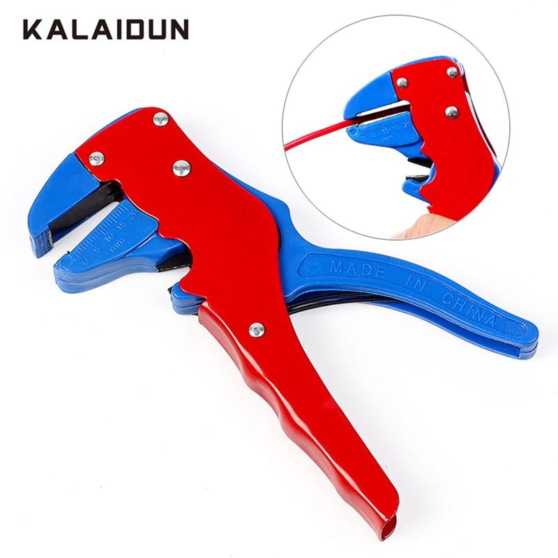 Automatische Abisolieren Zangen Multifunktionale Draht Stripper Kabel Draht Abisolieren Crimpen Werkzeug Koaxialkabel Strippen Messer Zangen