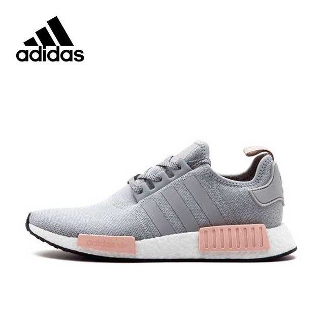Adidas Original New Arrival Official NMD R1 Women s Running Shoes Sports  Sneakers BY3058 65858f50d2ba4