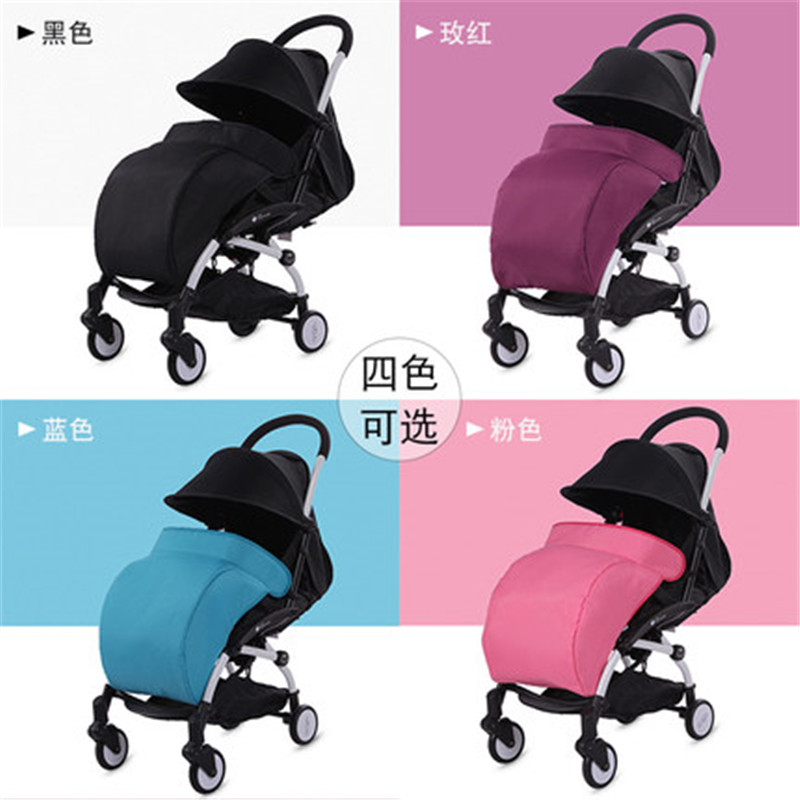 Fashion Winter Universal Warm Stroller Foot Cover Windproof Pushchair Foot Muff