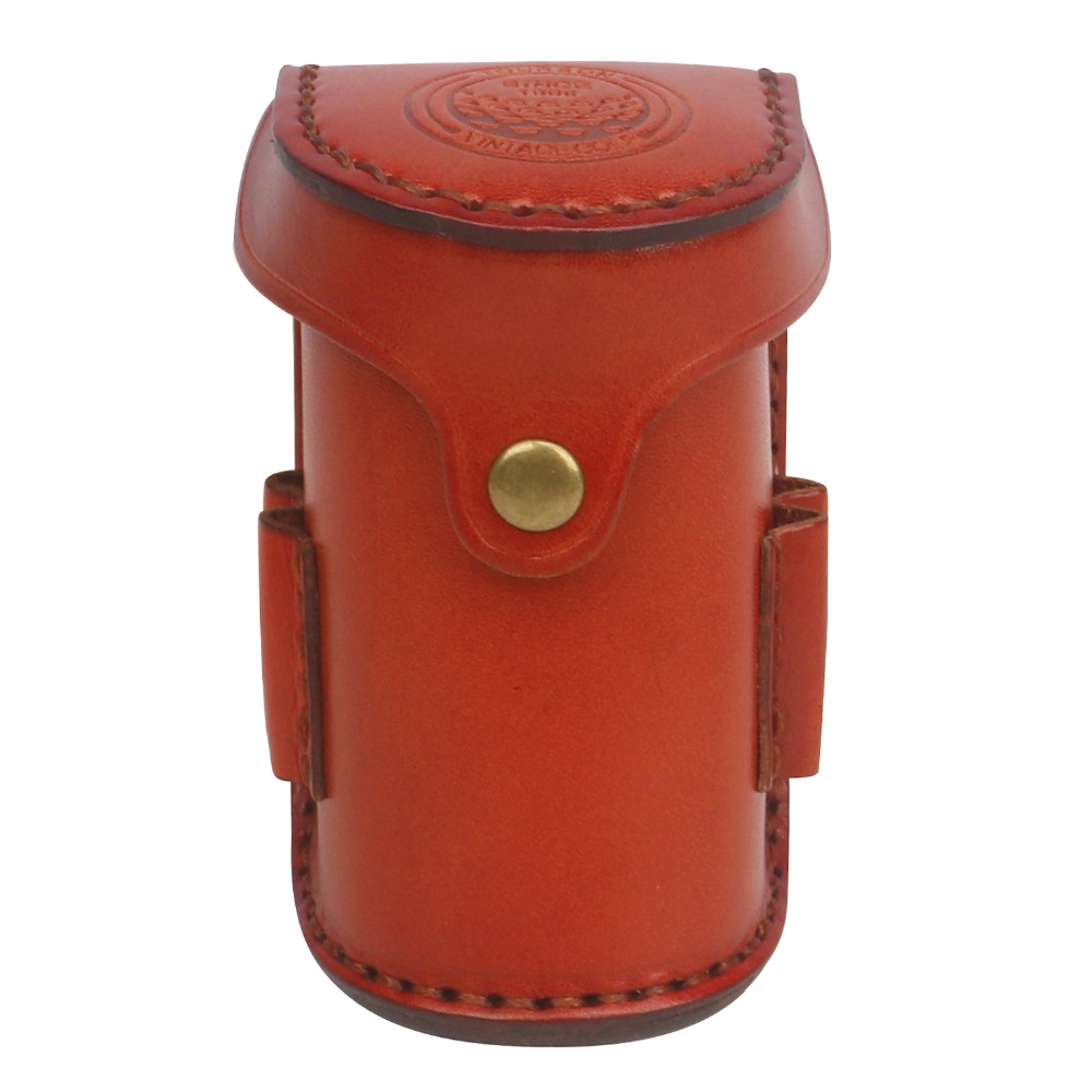 Vintage Mini Leather Portable Golf Bag Tee Holder Holds 2 Balls 4 Tees Vegetable Leather Waist Golf Pouch Free Shipping