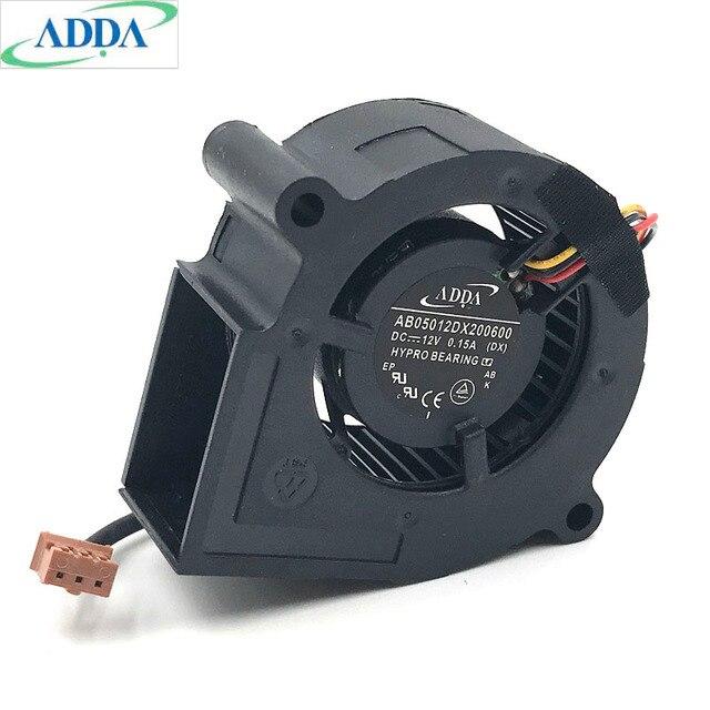Ventilador de turbina para proyector, instrumento, ventilador de refrigeración, 20 unids/lote, agregar AB05012dx200600 PJD5132