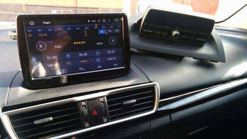 mazda3 car gps 2016