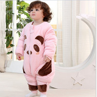 Newborn Jumpsuit Fashion Baby Clothes One Piece Baby Boys Girls Clothes Long Sleeve Winter Baby Rompers