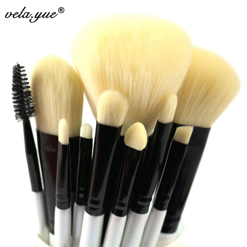 High Quality Makeup Brushes Set 10pcs Essential Makeup Tools Kit 10pcs professional makeup brushes set high quality makeup tools kit premium full function