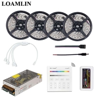 SMD2835/3528 RGB Led Flexible Strip Light With Milight B3 Touch Panel RGB Led Controller Power Driver Kit 5M 10M 15M 20M