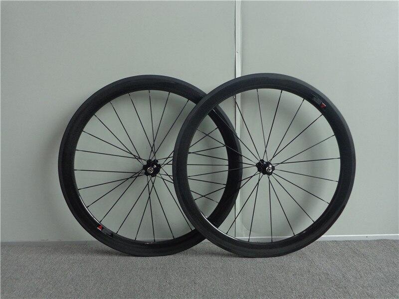 700c carbon wheels chinese carbon wheelset clincher roue carbone pour velo route