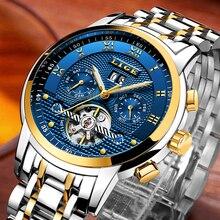Reloj de hombre mecánico automático