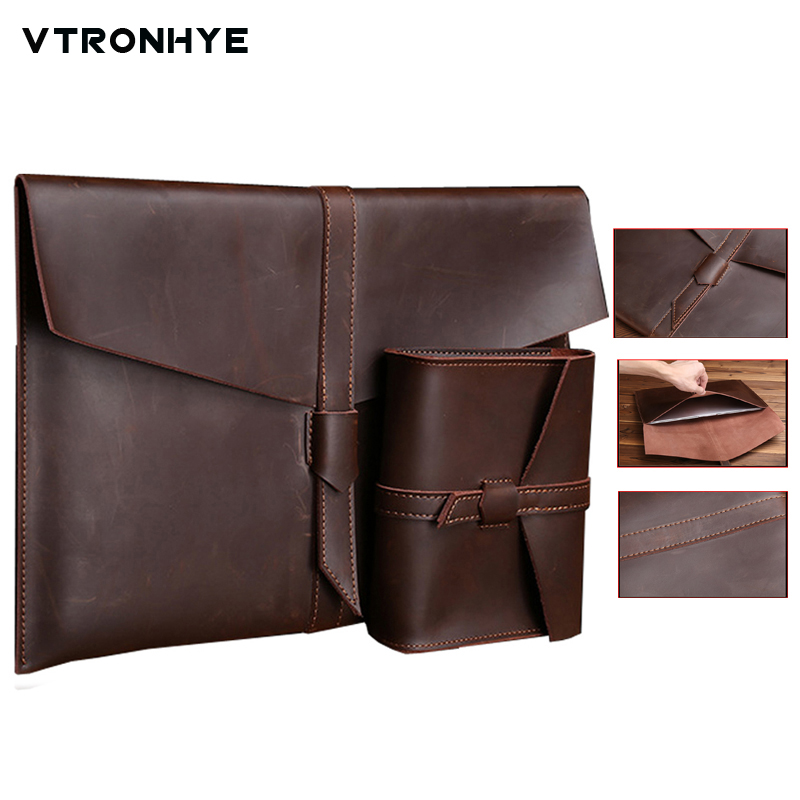 VTRONHYE 11.6 13.3 15.4 Laptop Sleeve Bag for Macbook Air Pro Retina 11 13 15 Luxury Notebook Bag for Macbook Pro 13 2016 case
