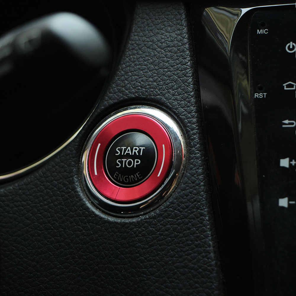 Zlord רכב מפתח הצתה מתג חור מעגל Trim מפתח מדבקה לניסן x-trail Xtrail Rogue T32 הקאשקאי J11 מוראנו Teana