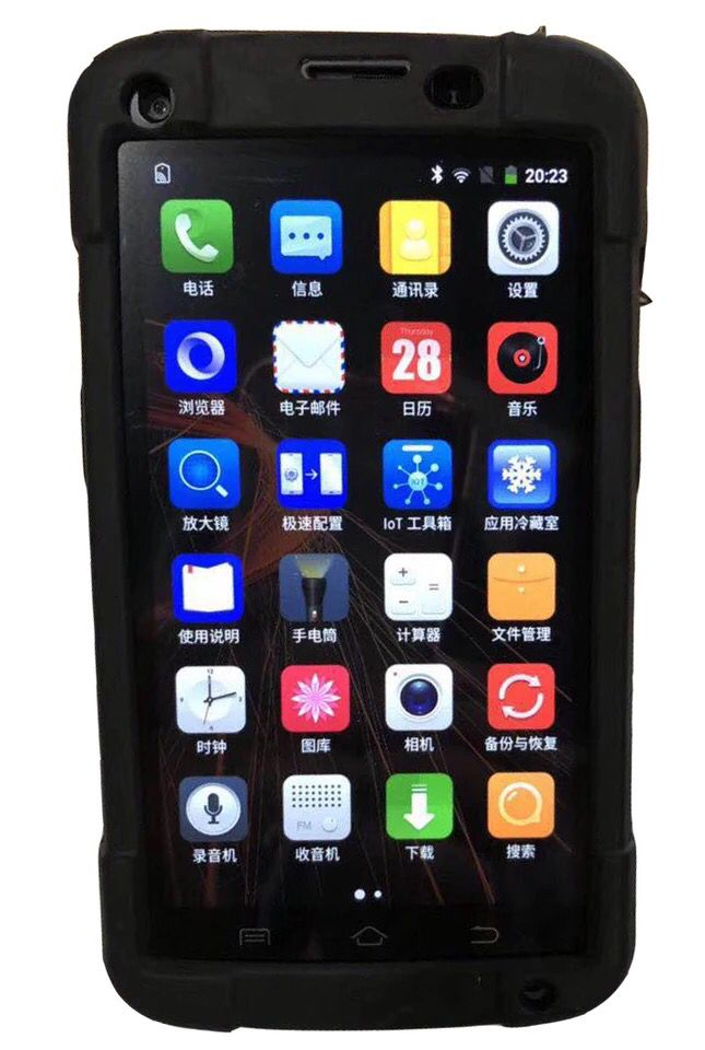 """5 colių """"Android"""" 6.0 2D brūkšninis kodas N3680 delninis - Pramoniniai kompiuteriai ir priedai - Nuotrauka 4"""