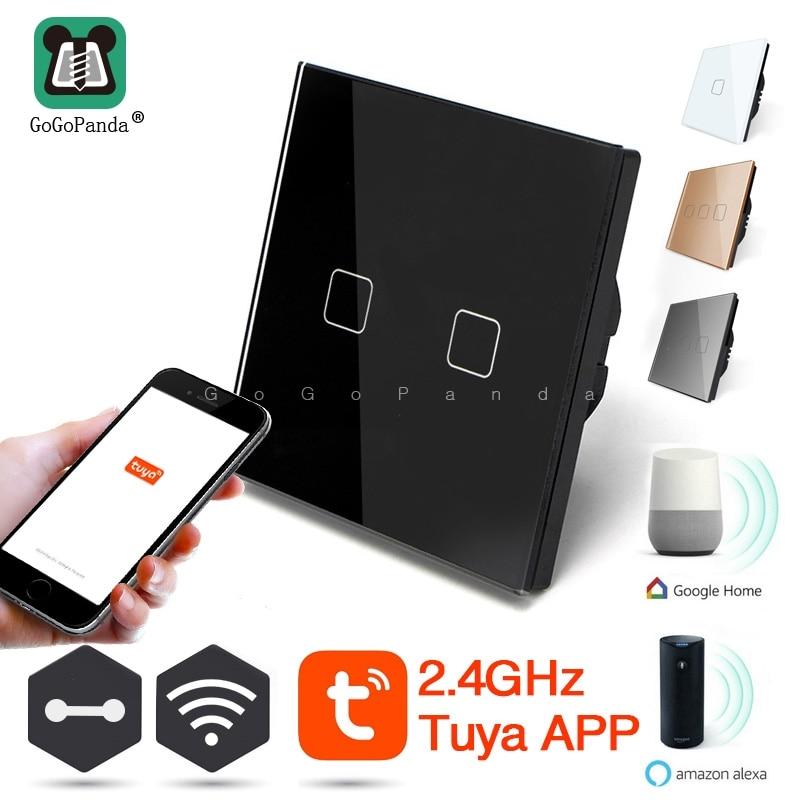 Zemismart US AU WiFi Switch For Light Alexa Google Home TUYA