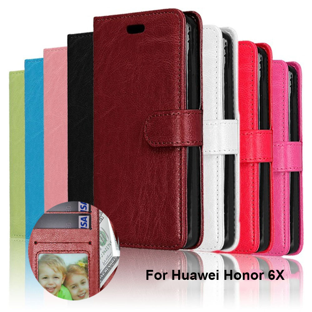 <font><b>Cases</b></font> for Huawei <font><b>Honor</b></font> 6X 7X 8X Max PU Leather Cover for Huawei <font><b>Honor</b></font> <font><b>7S</b></font> 7i Shot 8 8A 8S 8C 9 9I 10 Lite Play 20 20 Pro Coque image
