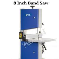 8 Inch Band Saw 220V Multifunctional Woodworking Band Sawing Machine Solid Wood Flooring Installation Work Table Saws