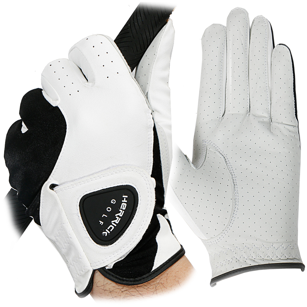 NEW golf glove men Left hand genuine leather Breathable soft small sheepskin Skidproof and clingy wear-resisting цена