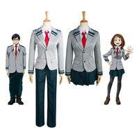 Boku No Hero Academia AsuiTsuyu Yaoyorozu Momo School Uniform My Hero Academia OCHACO URARAKA Midoriya Izuku