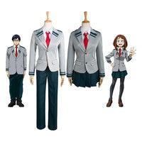 Boku no Hero Academia AsuiTsuyu Yaoyorozu Momo Sets Uniform My Hero Academia OCHACO URARAKA Midoriya Izuku Cosplay Costume