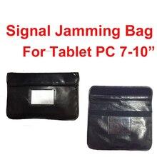 """Сумка из полиуретана с защитой от сканера для карт для телефонов или 7-1"""" планшетных ПК с радиационным блокатором, сумка для защиты от радиации"""