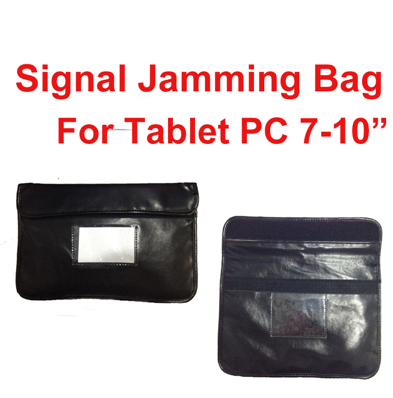 Anti-Scan Card Sleeve PU Pouch Ok For Phones Or 7-10