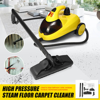 High Pressure Steam Floor Carpet Cleaner Washer Cleaning Machine 13in1 AU220V 1.5L4.0 1800W Bar 360 Wheel for Clean Bathroom Car
