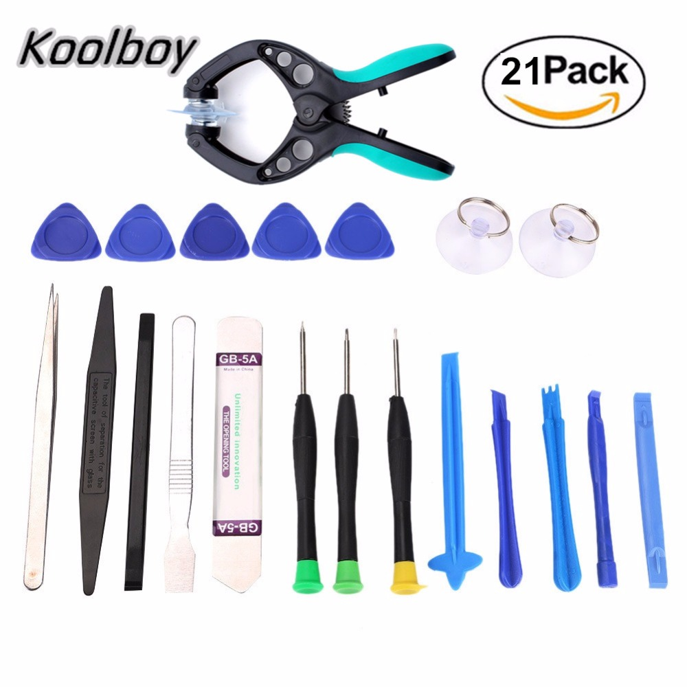 Hot 21 In1 Professional Mobile Phone Repair Tools LCD Screen Opening Screwdriver Suction Cup Kit Pry Disassembly Set Hand Tools