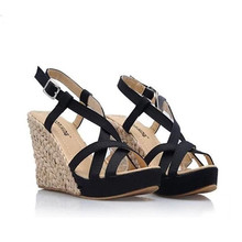 Bohemian Roman Slope Plus Size 34 43 Sexy High Waterproof Sandals 2014 New Women Wedge Pumps