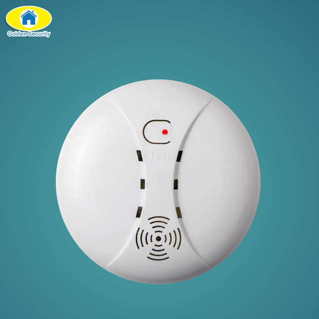Golden Security Wireless Smoke Detector Fire Alarm for G90B S5 KERUI ...