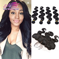 Cambodian Body Wave Virgin Hair With Closure 5 Pcs Lot 13x4 Ear To Ear Silk Base Closure With Bundles Lace Front With Bundles