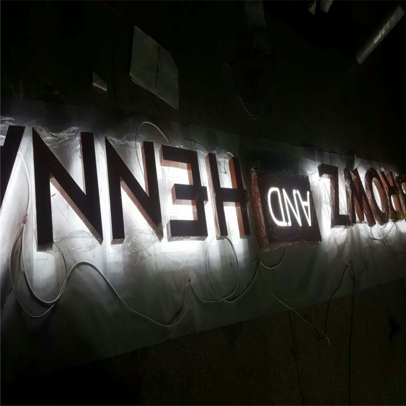 Factory Outlet Led Lighting In The Letter, Advertising Lighting Signbaord