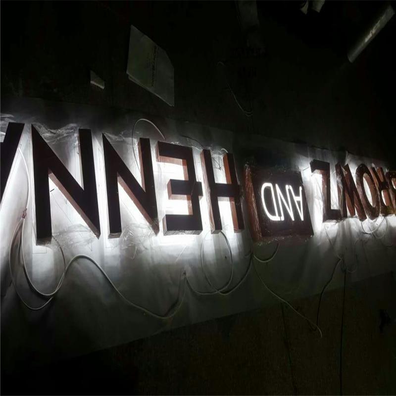 Factory Outlet Led Lighting In The Letter, Advertising Lighting Signbaord