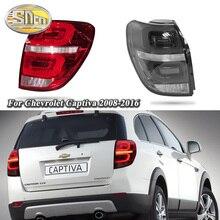 Car LED Tail Light Taillight For Chevrolet Captiva 2008 - 2016 Rear Fog Lamp + Brake Light + Reverse Light + Turn Signal Light цена в Москве и Питере