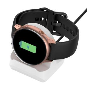 Image 5 - Silicone Charging Stand Dock Cable for Samsung Galaxy Watch Active 40mm R500 Smart Watch Charger Holder for Active 40mm R500 new