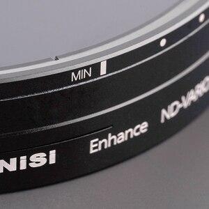 Image 5 - NISI ND VARIO 1.5 5 pára 95 Reforçada 110 114 milímetros Lente Da Câmera Filtro Para Vídeo e Fotografia 95mm 110 114 milímetros 1.5 milímetros 5 pára Filtro