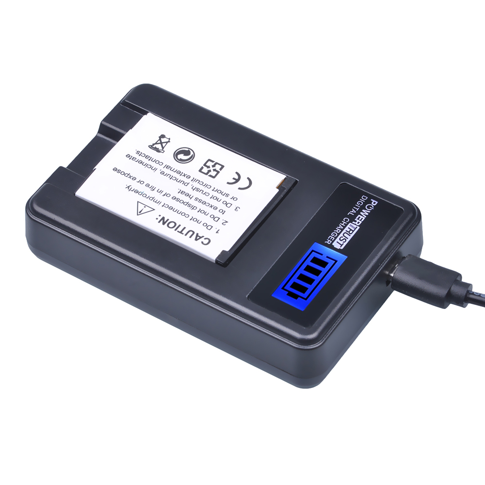 1Pcs SLB-10A SLB10A SLB 10A Camera Battery + LCD USB Charger for Samsung EX2F WB150F WB250F WB350F WB750 WB800F WB500 WB550 HZ10