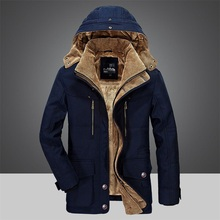 Brand Fashion winter Military Parka for men Windbreaker Thick Warm zipper Jacket Autumn Outerwear hooded Coats Mens Jackets 4XL