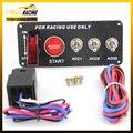 Interruptor de corrida MP-3018 Racing Car 12 V Interruptor De Ignição Panel Engine Start Botão LED Alternar Um YC100512