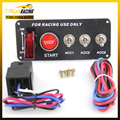 Racing Switch MP-3018 Racing Car 12V Ignition Switch Panel Engine Start Push Button LED Toggle A YC100512