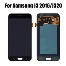 купить LCD For Samsung Galaxy J3 2016 J320 LCD Display Touch Screen Digitizer J320F Assembly Frame For Samsung SMj320 J320A J320FN по цене 896.89 рублей