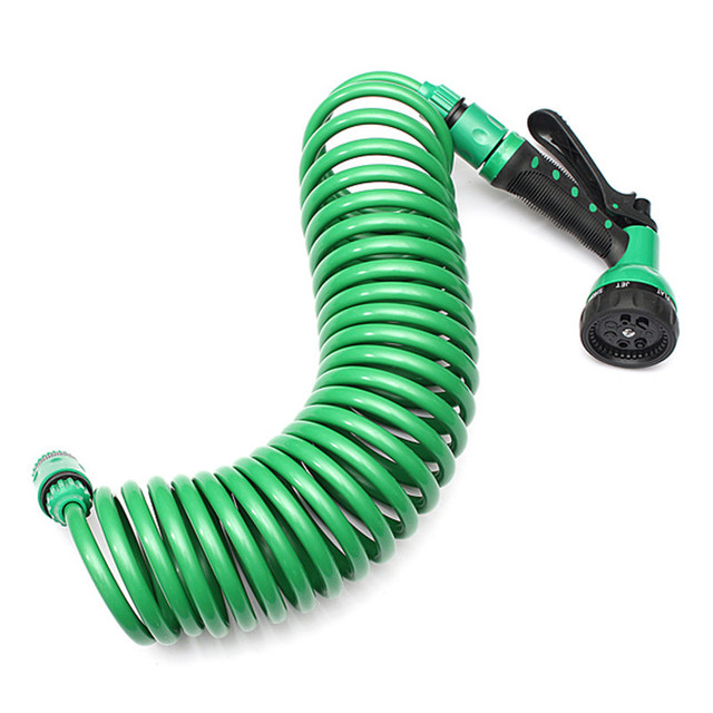 7.5mm Coiled Wash Down Hose with Nozzle 25FT Flexible Portable Expandable Garden Water Hose With  sc 1 st  AliExpress.com & 7.5mm Coiled Wash Down Hose with Nozzle 25FT Flexible Portable ...