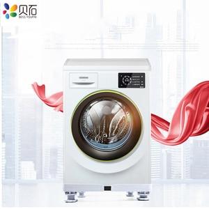 Image 3 - 可動冷蔵庫床トロリー冷蔵庫スタンド洗濯機ホルダー 4 強力な足でスタンドブレーキホイール 500 キロ