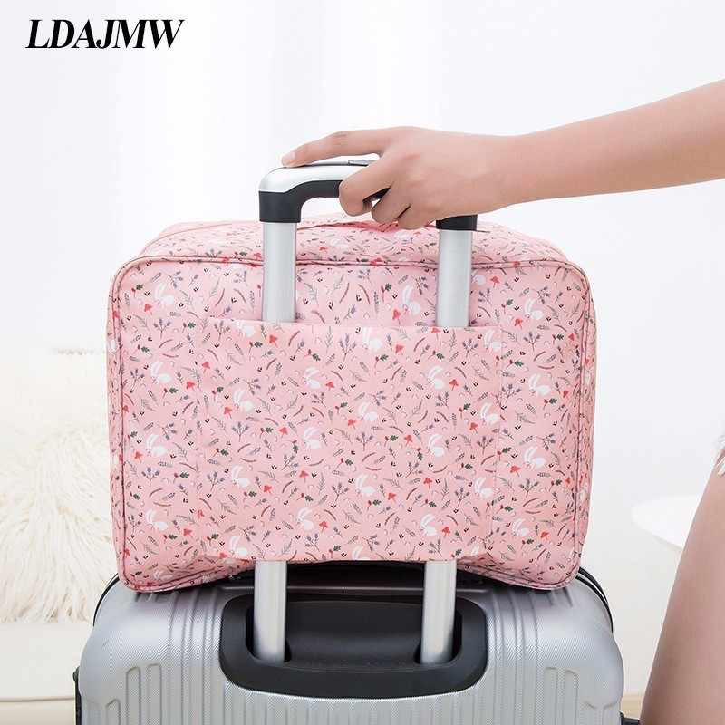 LDAJMW Luggage Packing Tote Layered Finishing Travel Storage Bags Organizer Luggage Suitcase Arrangement Bag