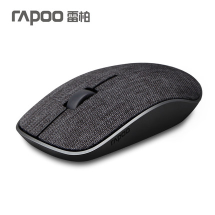 лучшая цена Rapoo 3500pro Slim Portable Optical Wireless Mouse Gaming Soft Fabric Cover Mice