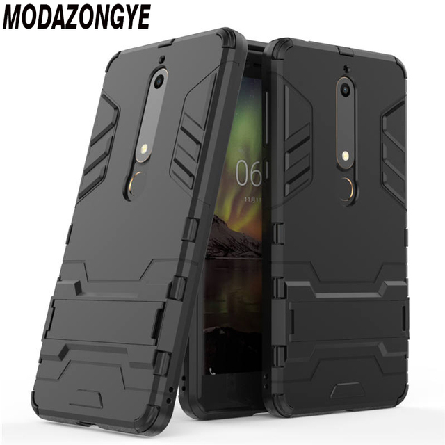 hot sale online a8960 73c95 US $3.19 20% OFF|For Nokia 6.1 Case Nokia 6 2018 Case Hybrid Silicone +TPU  Back Cover Phone Case For Nokia 6 2018 TA 1068 TA 1050 TA 1043 TA 1016-in  ...