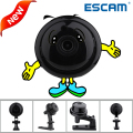 Escam q6 2017 1mp hd mini câmera ip wifi interior infravermelho day night vision onvif suporte motion detection 2.4.2 max 128 gb cartão